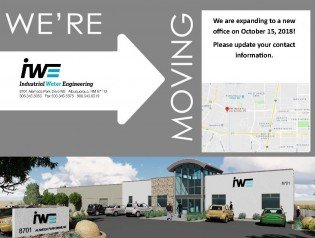 IWE HAS MOVED TO A NEW FACILITY